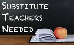 Teaching and Educational Aide Substitutes Needed!