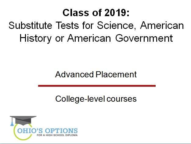 ohio's options - class of 2019