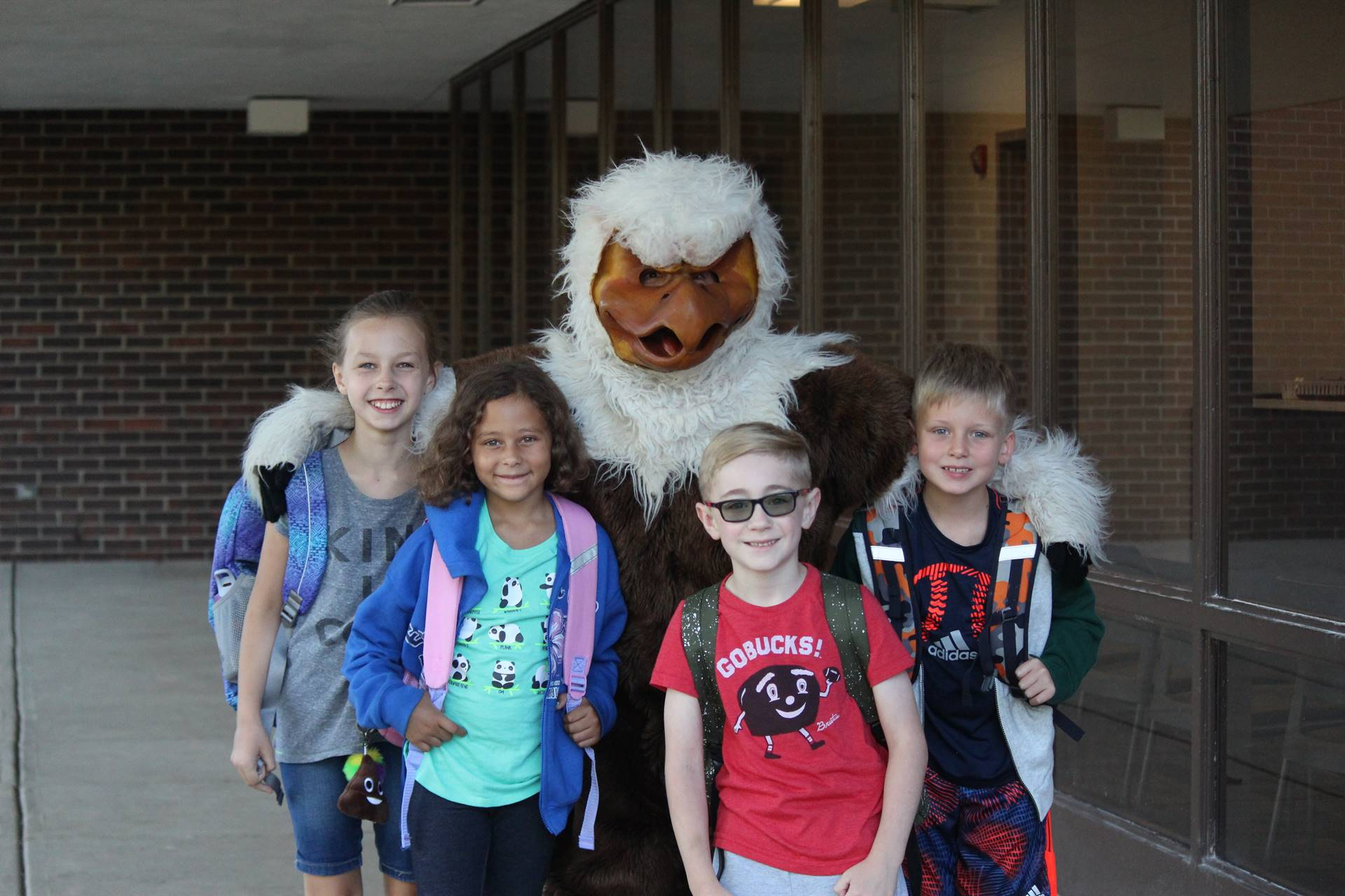 Harry The Eagle Visits Souders