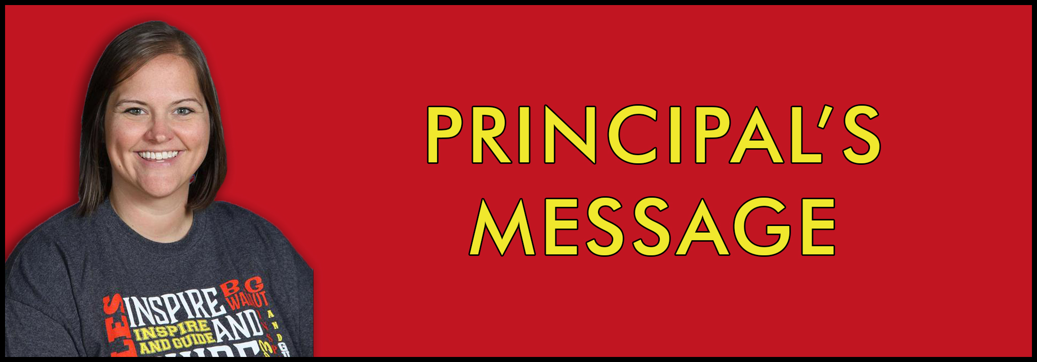 principal's message tout