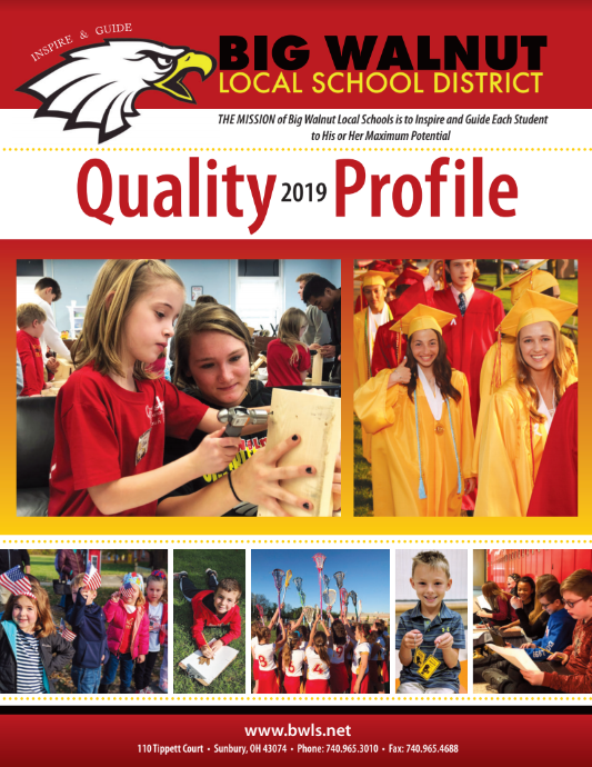 Big Walnut Quality Profile Front Page
