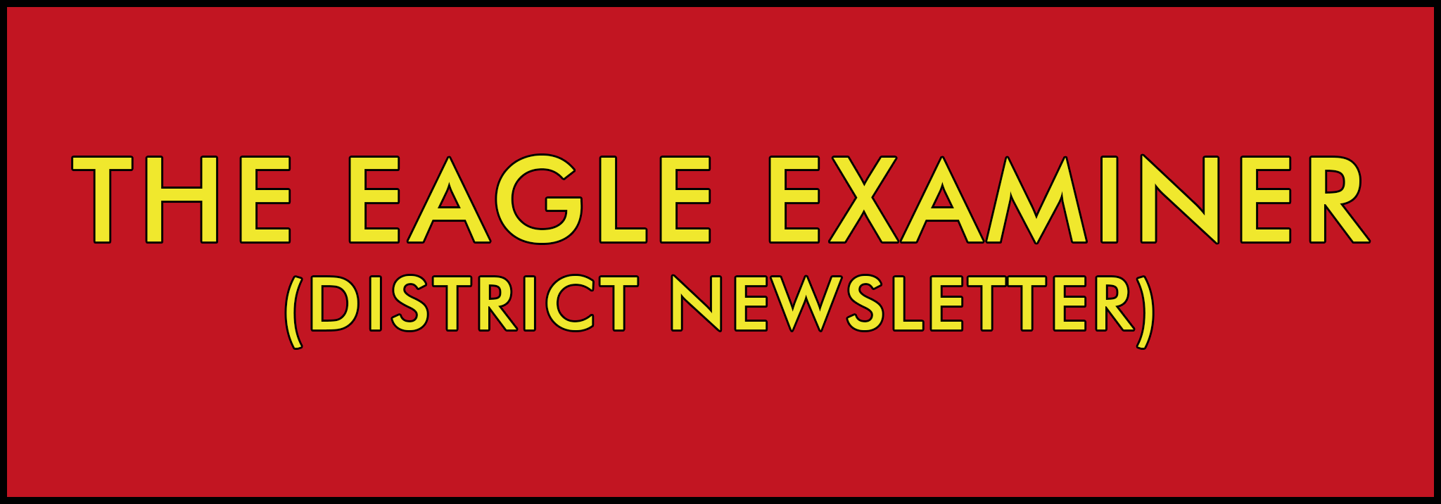 The Eagle Examiner